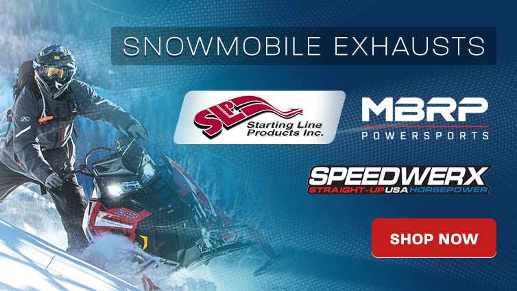 Snowmobile Exhausts MBRP SLP Speedwerx