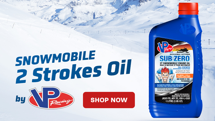 VP 2 Strokes Snowmobile Oil
