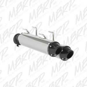 Slip-on system Dual Stack Performance Muffler Arctic Cat WildCat X Models Dual 2015-2017