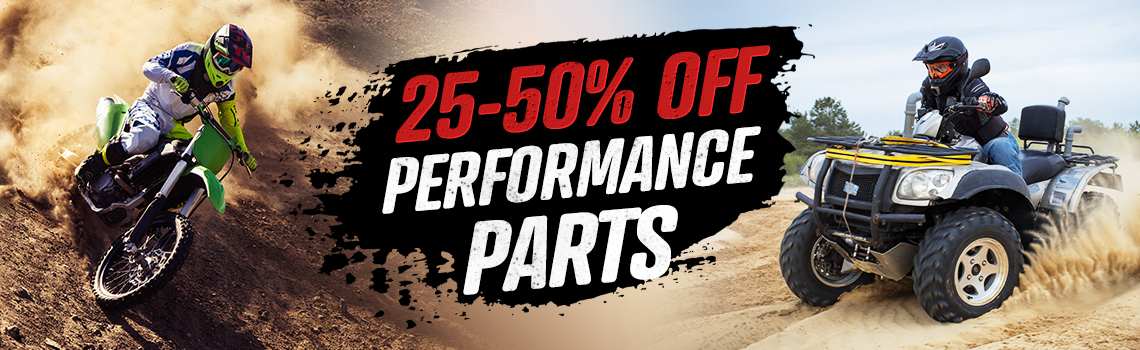 50% off performance parts