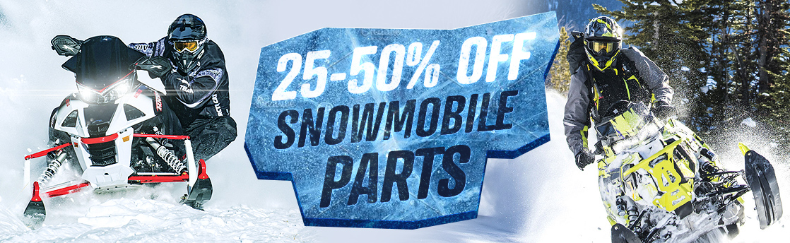 25 to 50% Off Snowmobile Parts