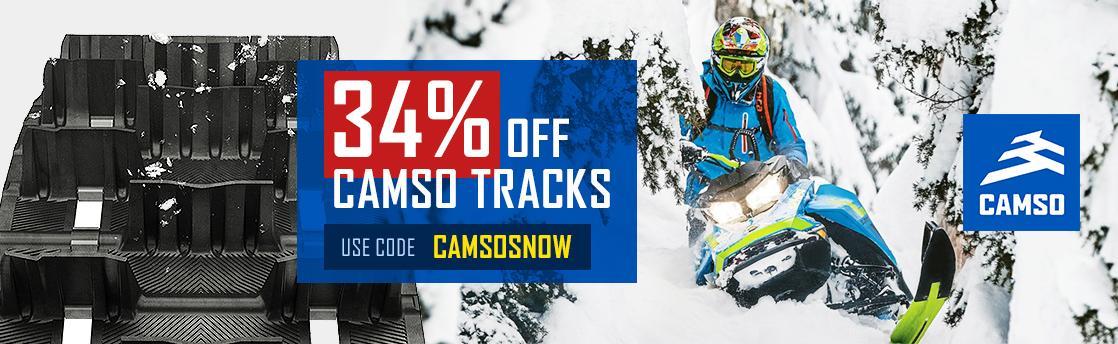 34% off camso tracks