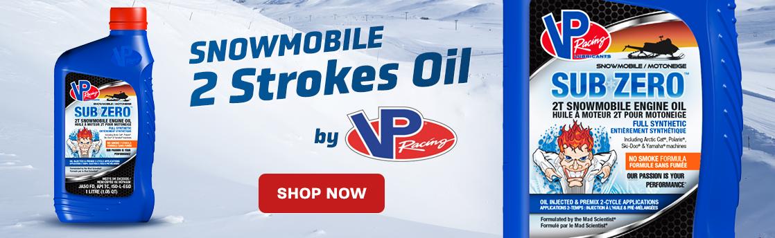 VP 2 Strokes Snowmobile Oil