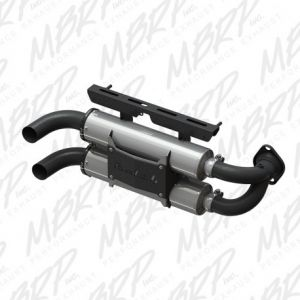 Slip-on system Dual Stack Performance Muffler Polaris RZR 1000 XP 2015-2016