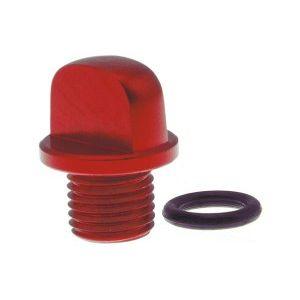 OIL CAP RED